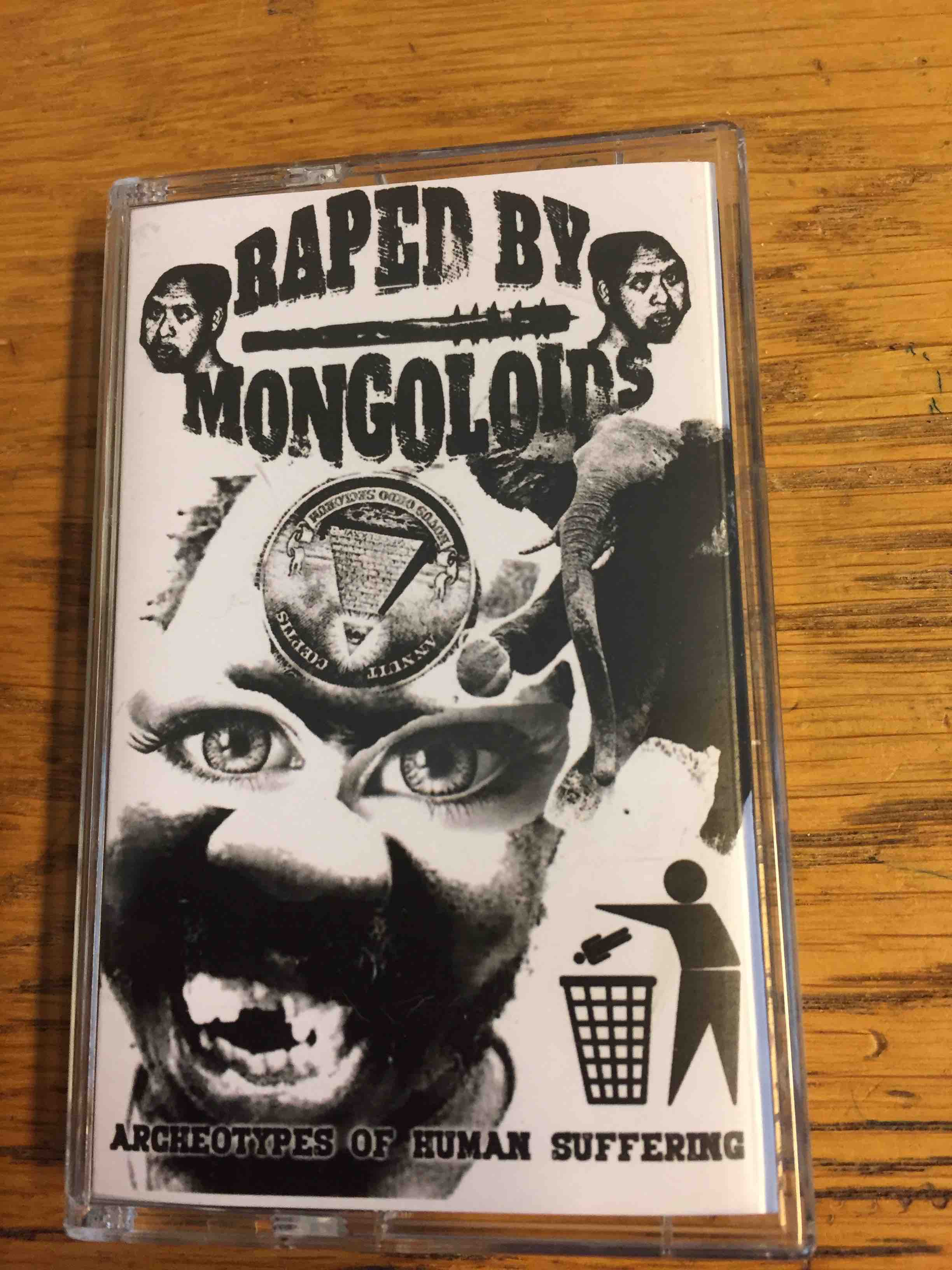 RAPED BY MONGOLOIDS: Archeotypes of Human Suffering, Demo 1